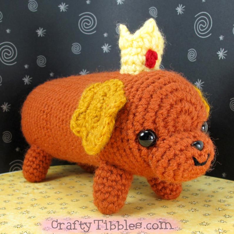Hotdog Princess by CraftyTibbles