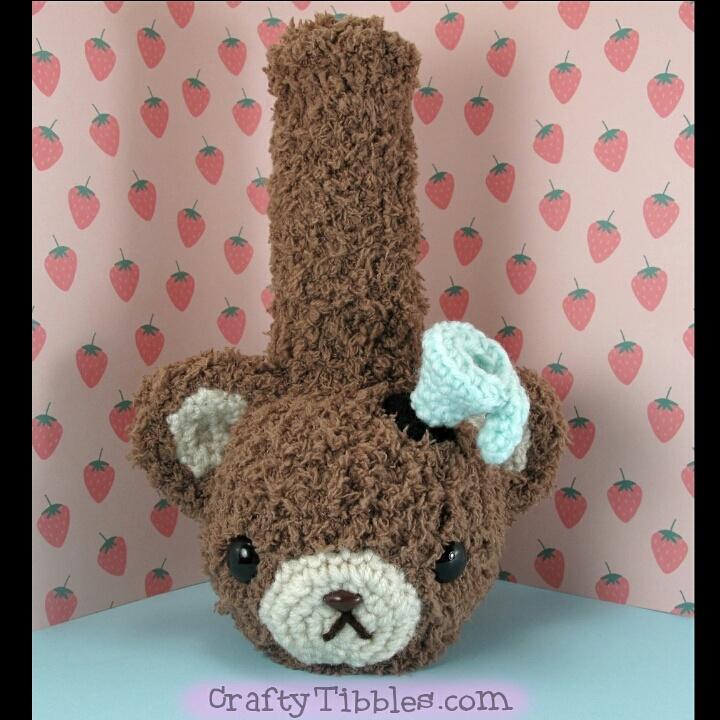 Teddy Bear Bong by CraftyTibbles