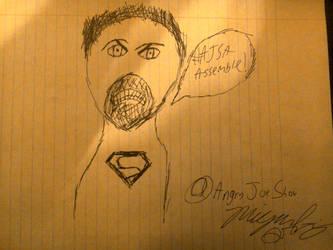 AngryJoe Sketch Art by HackalotSpark