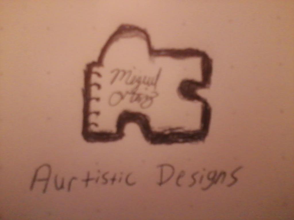 Aurtistic Designs Concept Logo by HackalotSpark