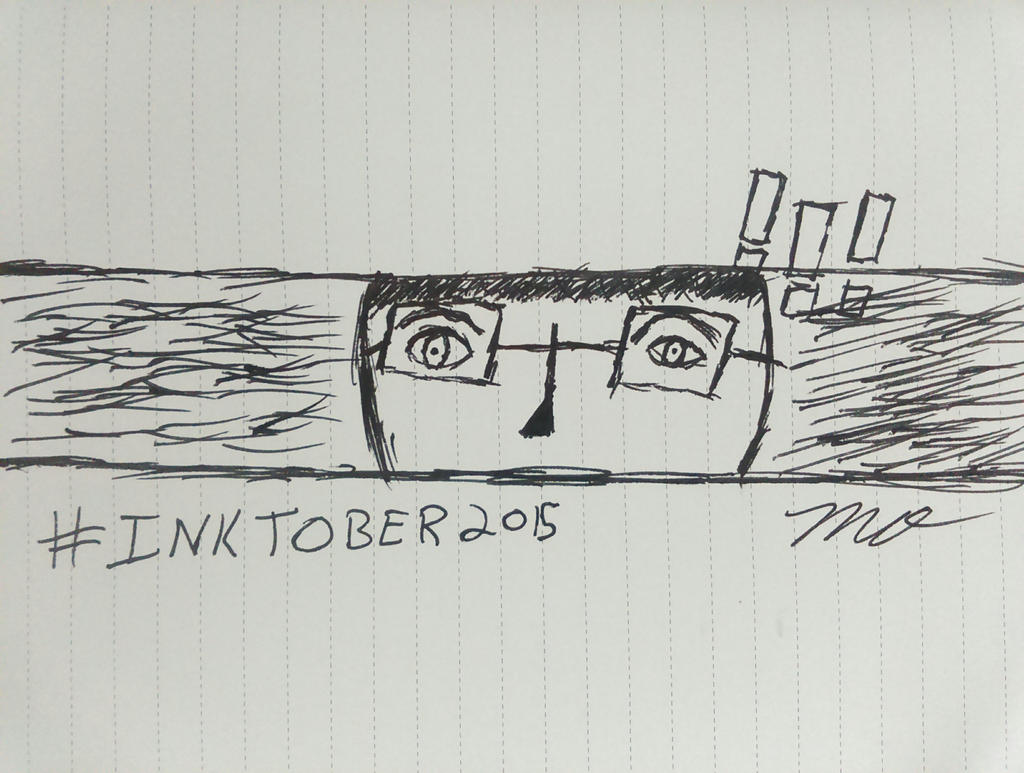 My #Inktober Piece: PERSONAl Alertness. by HackalotSpark