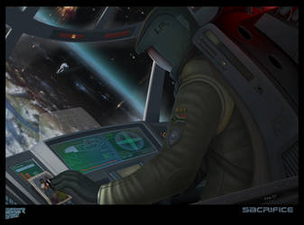 Ender's Game - Sacrifice by ziwu