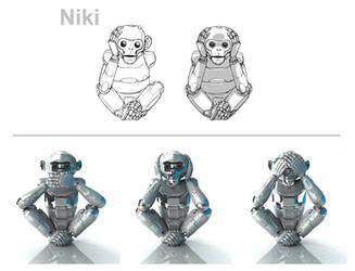 niki 3D by luisledesma