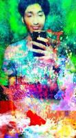 Seany - Galaxy Shirt -  Rang Festival - PicsArt