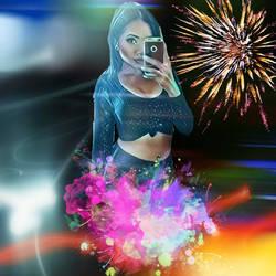 Salina Lynn Thor - White Ice - Magic Selfie