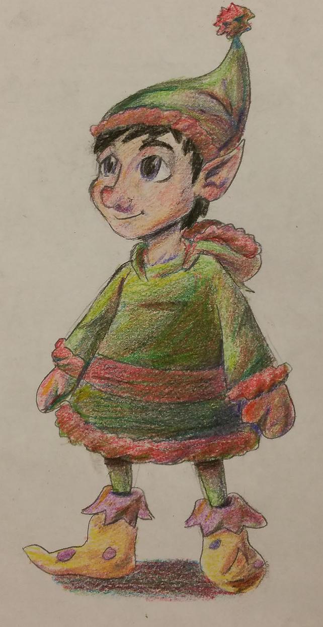 Alexander's Sprites: Barret Elf_picture_by_kingtremolo-d9jt0zq
