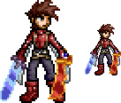 SSF2 Style Lloyd Irving Sprite by KingTremolo