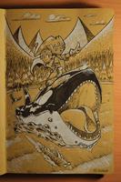 Inktober 2018! Day 12: Whale by KayDaKay