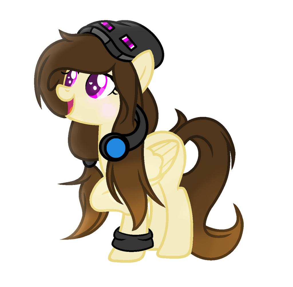 Oc Mlp Pegasus Gamer By Yexileni On Deviantart