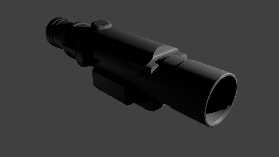 Nerf  Gun Scope by Stealthdesigns