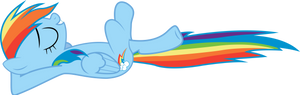 Rainbow Dash Relaxed [1]