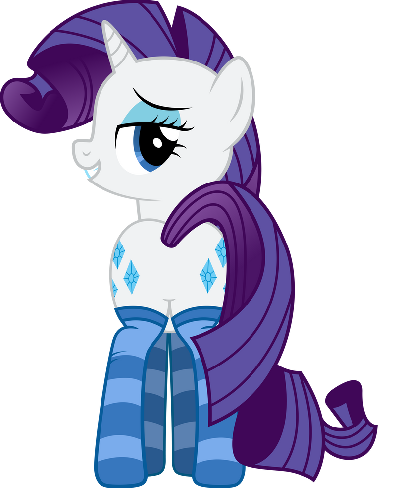 Rarity - Dat Plot [Socks] by MrCabezon