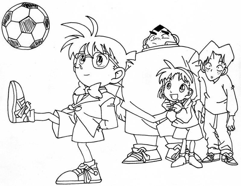 Detective Conan : キャラクターぬりえ無料 : 無料