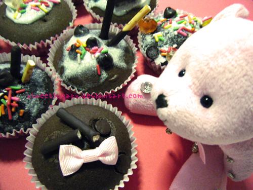 Teddy wants a cupcake by xsweetsugarx