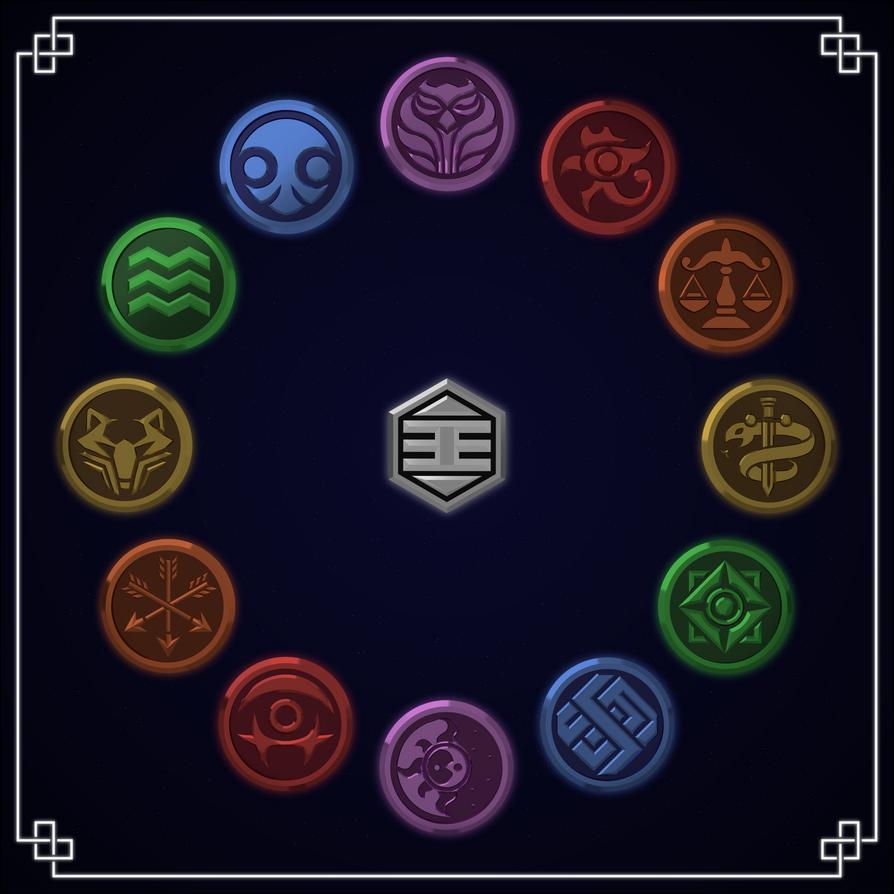 Dragon Ball Super Universe Emblems By Gamez X On Deviantart