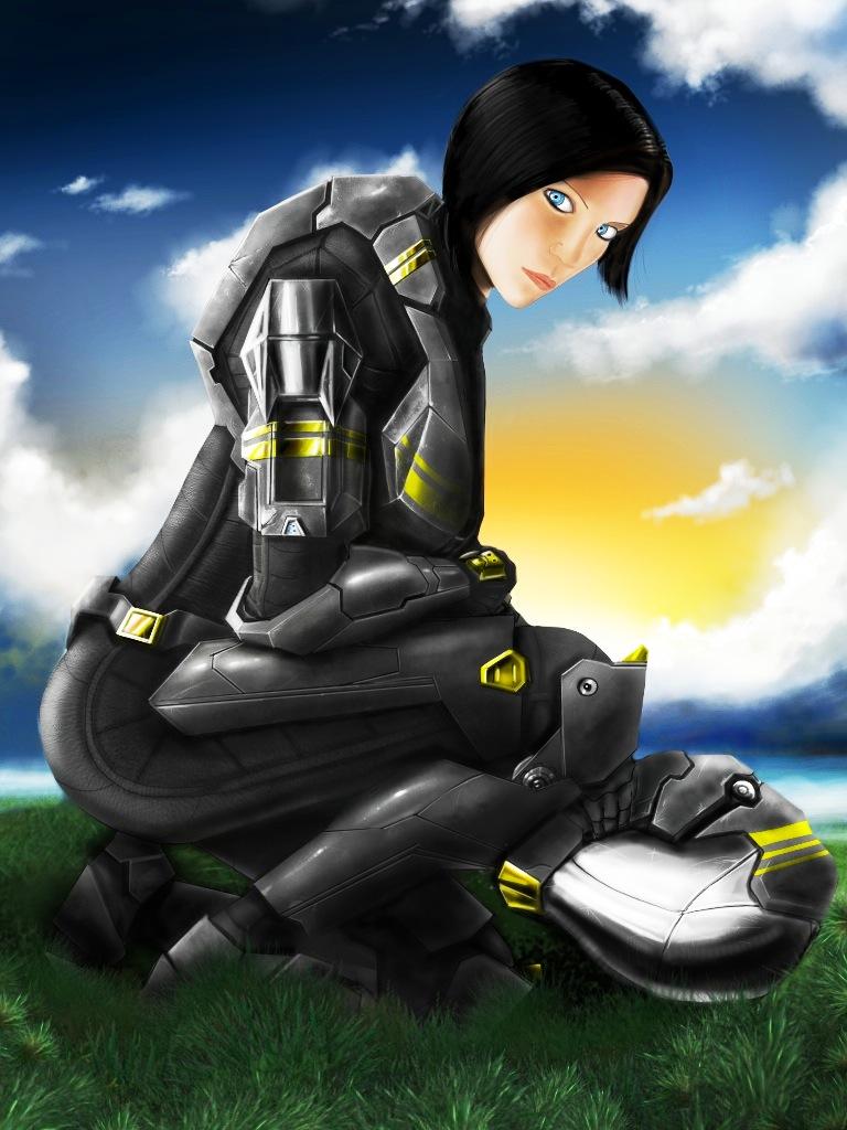 Hot spartan girl
