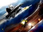 US vs China air battle