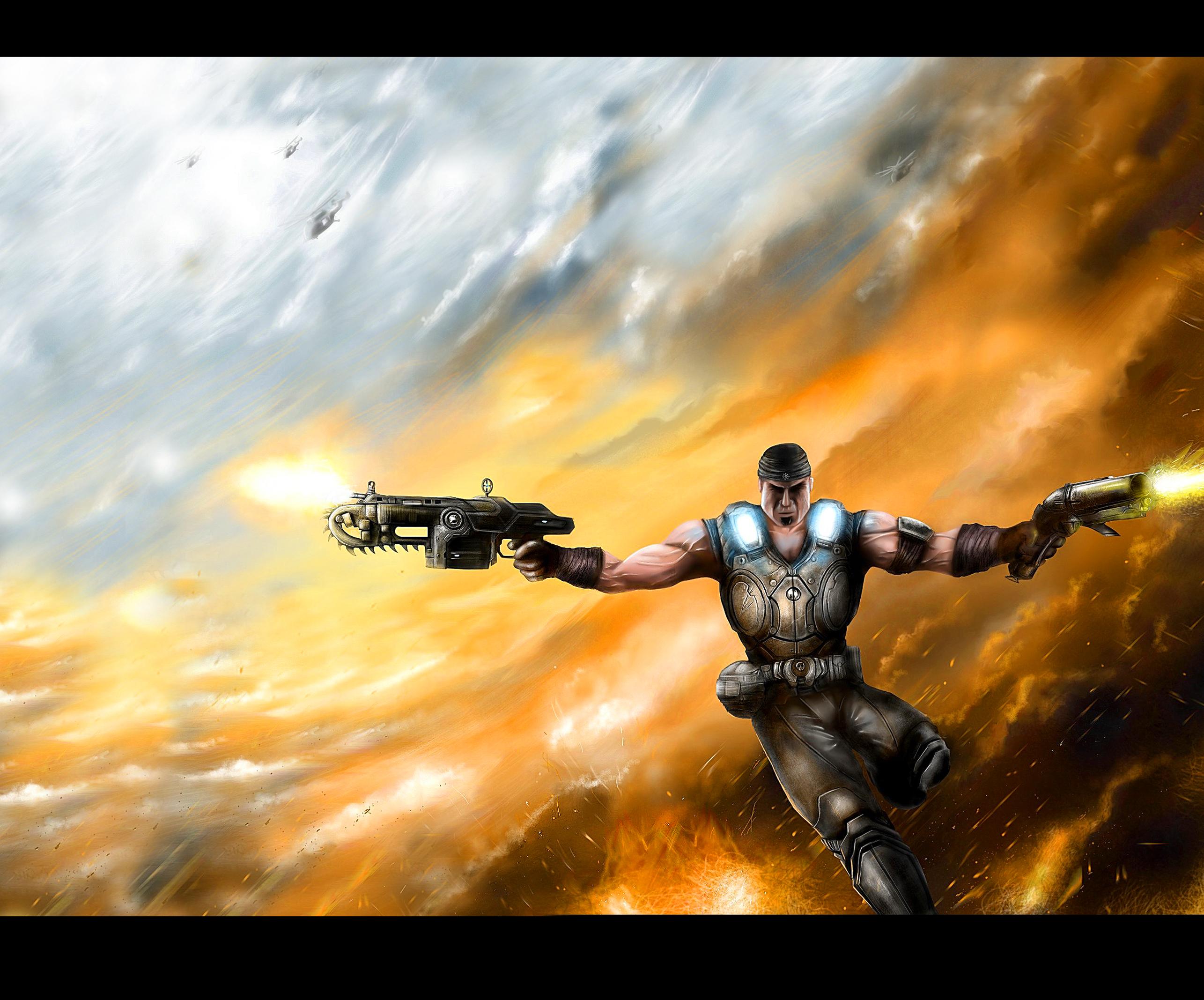 Gears of War 3 War is Hell by jose144