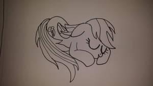 ATG Day 7:  Sleepy Dashie