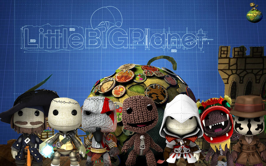 LittleBig Planet wallpaper by LH-NinjaChicken on DeviantArt