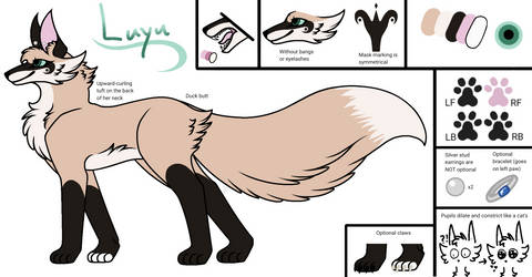 Luyu (Main Sona) Reference Sheet