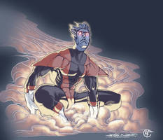 Ngboy's Nightcrawler Colored by ginmau