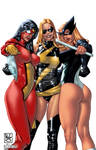 3 marvel girls - Part 2