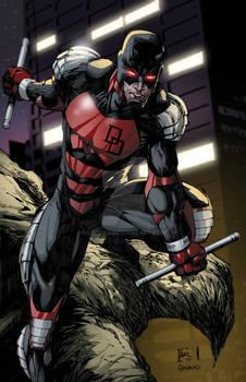 Armored Daredevil colors