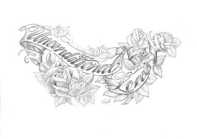 Unconditional Love Tattoo Unconditional Love byUnconditional Love Tattoo