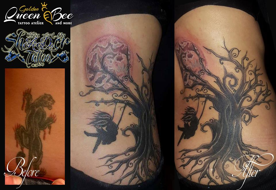 Cover up Tree by Shadertattoo
