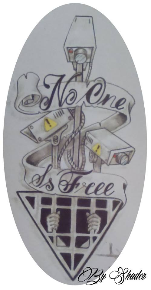 No one is free by Shadertattoo