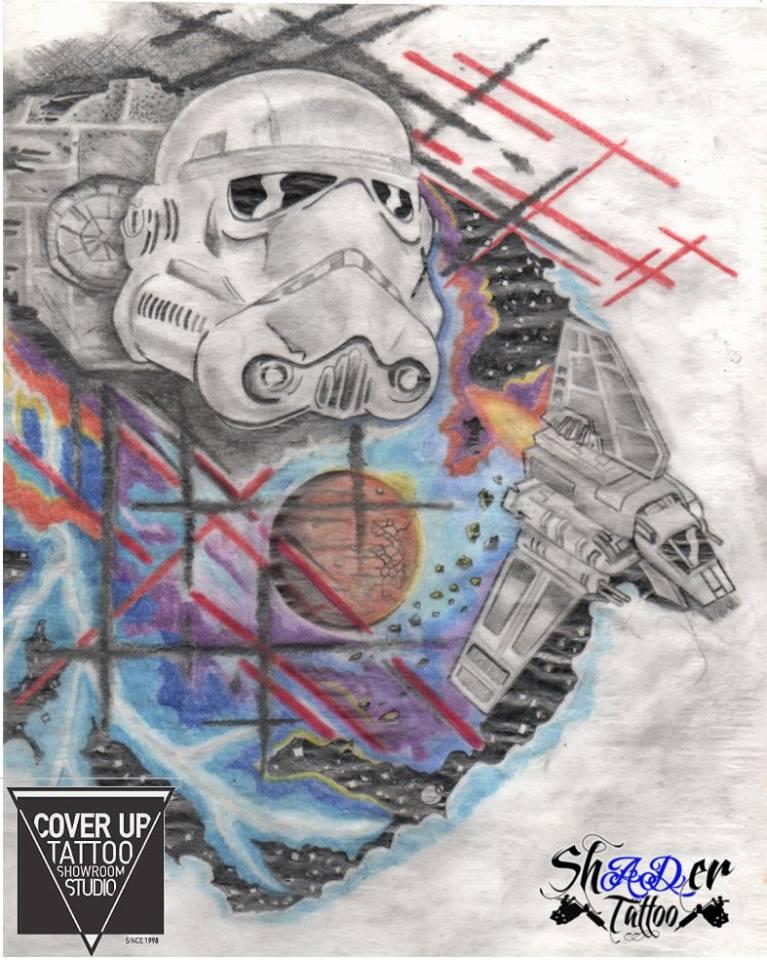 Star war theme by Shadertattoo