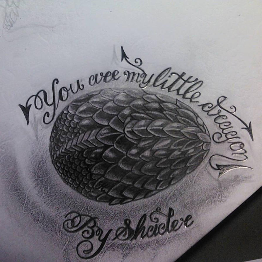 You are my little dragon by Shadertattoo