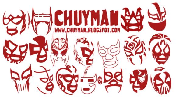 Lucha Libre brushes - Chuyman by haciendolalucha