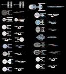 Pixel Trek all ships (so far)