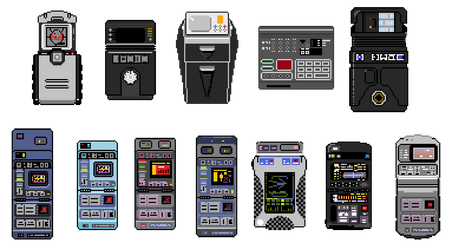 Tricorders - zoomed by VampireSlug
