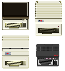 Franklin Computers zoomed