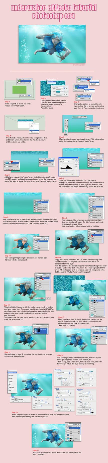 Photoshop : Underwater Effects Tutorial