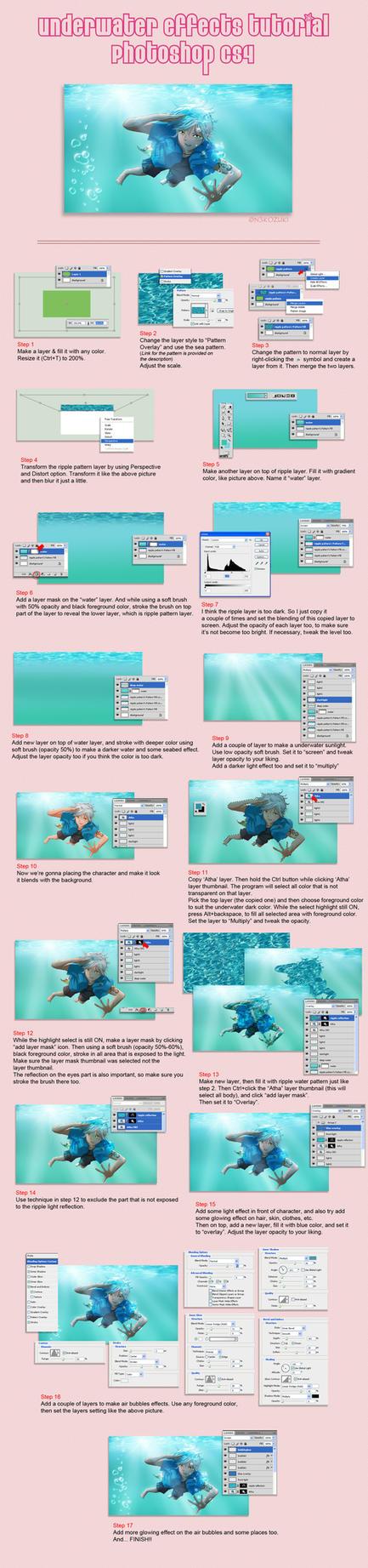 Liquids ice on drawing tutorials deviantart photoshop underwater effects tutorial by n3kozuki baditri Images