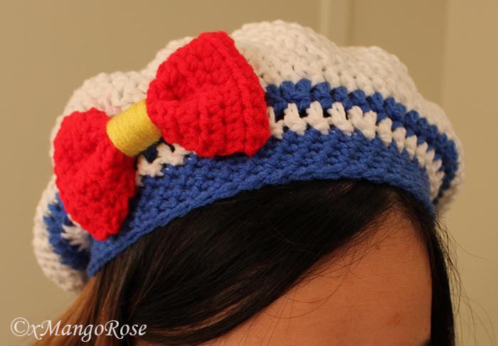 Free Crochet Pattern For Sailor Hat : Sailor Moon Hat (Inspired) by xMangoRose on DeviantArt