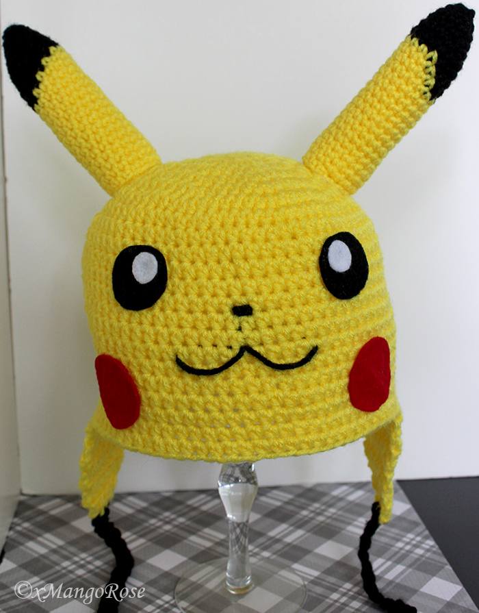 Knitted Pikachu Pattern : Pikachu Beanie Hat by xMangoRose on DeviantArt