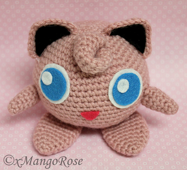 Amigurumi Jigglypuff Pattern : Amigurumi Jigglypuff Plush Toy from Pokemon by xMangoRose ...