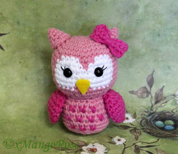 Amigurumi Knit Owl Pattern : Baby Owl Amigurumi Crochet Pattern by xMangoRose on DeviantArt