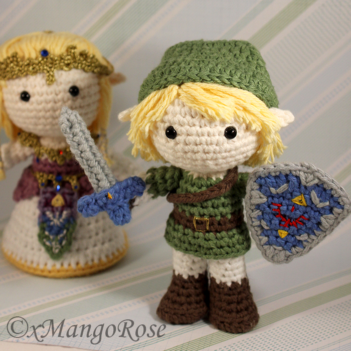 Amigurumi Zelda Patron : Amigurumi Link from Legend of Zelda by xMangoRose on ...