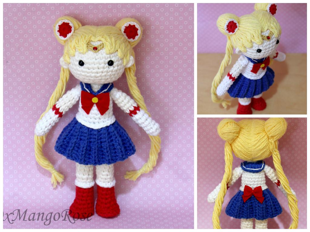 Sailor Moon Amigurumi Plush Doll by xMangoRose
