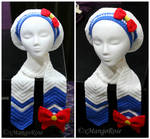 Sailor Moon Inspired Scarf and Slouchy Beret Hat