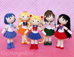 Collection of Inner Sailor Scouts Group by xMangoRose