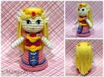 Toon Princess Zelda Amigurumi Doll