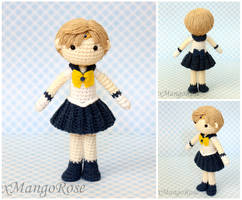 Sailor Uranus Amigurumi Crochet Doll by xMangoRose
