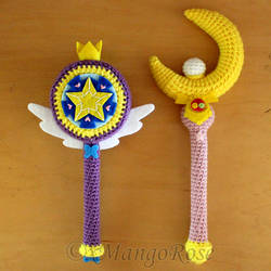 Sailor Moon and Star vs. the Forces of Evil Wands